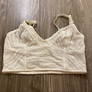 Free people white lace bralette